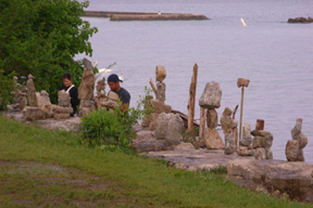 The parks on the Waterfront are used for many different recreational and cultural activities