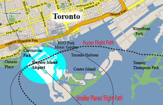 Porter Flight Path